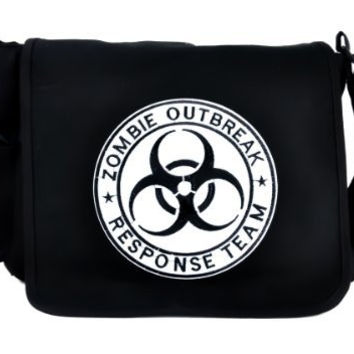 Zombie Outbreak Response Team School Messenger Bag