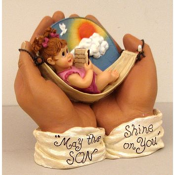 """""""IN HIS HANDS""""  May the """"SON"""" Shine on You."""