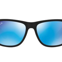 NEW SUNGLASSES RAY-BAN JUSTIN 55 RB4165 in Black