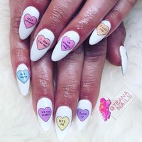 """Heartless"" Nail Decal Set"