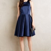 Erin Fetherston Ribboned Halter Dress in Navy Size: