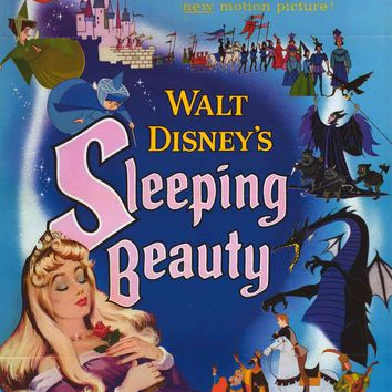 Sleeping Beauty Classic Disney Movie Poster 24x36