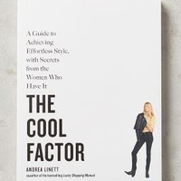 The Cool Factor by Anthropologie in White Size: One Size Books