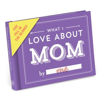 What I Love About Mom - Fill In The Love Journal