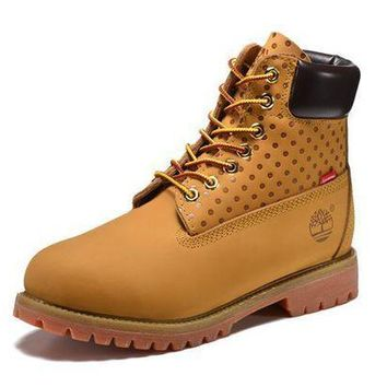 LMFIW1 Best Deal Online Timberland 10063 Mens Boots Women Shoes Yellow Wool for Warm
