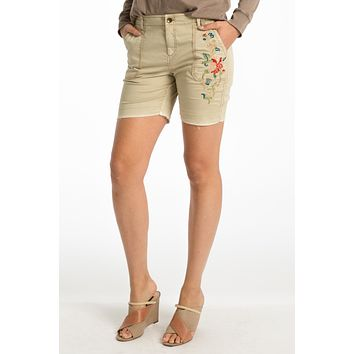 Connor Embroidered Short