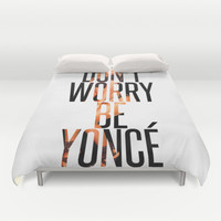 BEYONCÉ Duvet Cover by Hands in the Sky