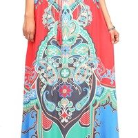 Wonder Paisley Maxi Skirt