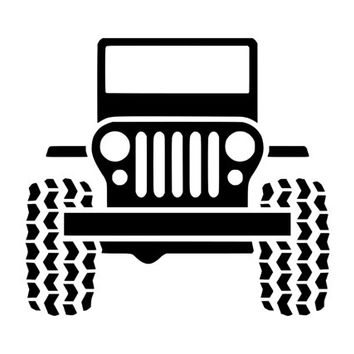 Jeep Decal Jeep Sticker Outdoor Vinyl Custom Sticker Custom Decal Jeep Off Road Decal Jeep Wrangler Accessories Jeepers Window Decal D1109