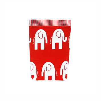 Car Trash Bag ~ Red Elephant