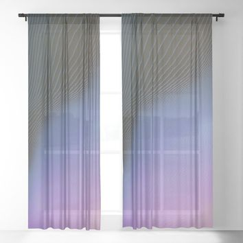 Ever So Slightly Sheer Curtain by duckyb