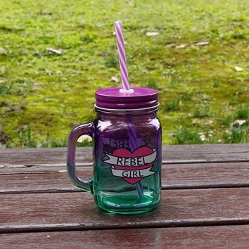 Heat Resistant Glass Travel Mug