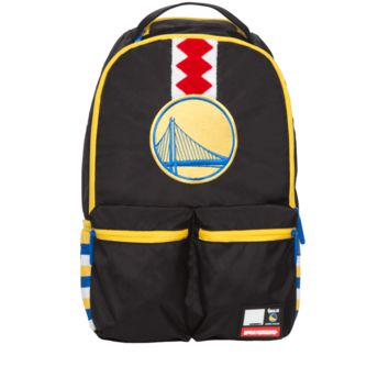 Sprayground - NBA Labs Warriors Double Cargo Backpack