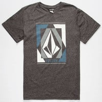 Volcom Clarity Mens T-Shirt Heather Black  In Sizes
