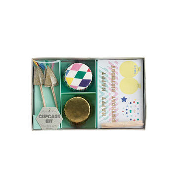 crewcuts Girls Meri Meri Birthday Cupcake Kit