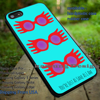 As Sane As I am Luna Lovegood Harry Potter DOP775  case/cover for iPhone 4/4s/5/5c/6/6+/6s/6s+ Samsung Galaxy S4/S5/S6/Edge/Edge+ NOTE 3/4/5 #movie #harrypotter