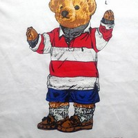 RALPH LAUREN POLO BEAR ROUND NECK T SHIRT