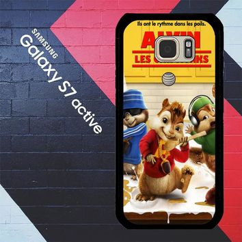 Alvin And The Chipmunks Y0710 Samsung Galaxy S7 Active Case