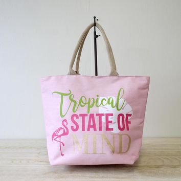 Tropical State of Mind Essential Tote
