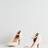 ModCloth Darling Sharp Dressed Manager Heel
