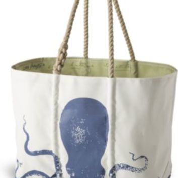 Sperry Top-Sider Sailcloth Large Octopus Tote Navy, Size One Size  Women's