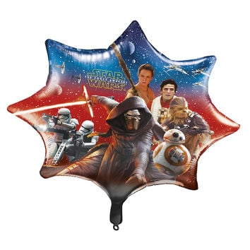 Star Wars The Force Awakens 28 Foil Party Balloon