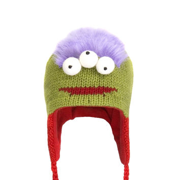 Al The Alien Peruvian Knit Hat