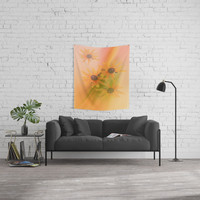 4 Sunflowers Wall Tapestry by tanjariedel