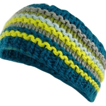 Multi Striped Winter Headband