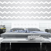 "3"" Wide Chevrons Wall Decals"