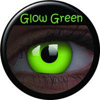 ColourVue Green Glow Coloured Contacts