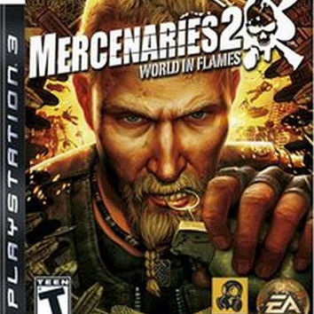 Mercenaries 2: World in Flames (Sony PlayStation 3, 2008)