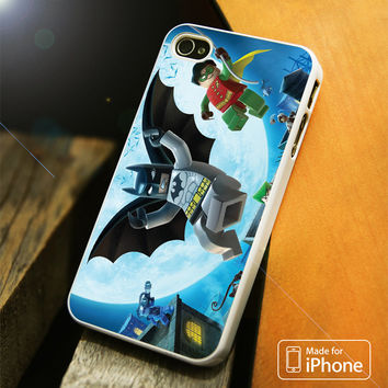 Lego Batman & Robin iPhone 4(S),5(S),5C,SE,6(S),6(S) Plus Case