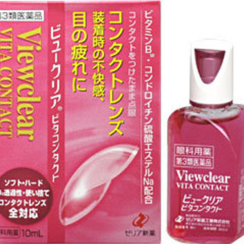 Zeria Viewclear Vita Contact Lens Eye Drops
