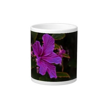 Beautiful flower, on a jumbo mug