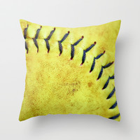 Square Ball Throw Pillow by Cassidy Edwards