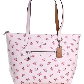 COACH Womens Floral Bloom Taylor Tote