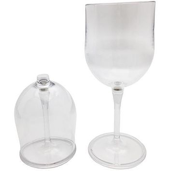 Outdoor Wine Glasses 2pc Travel Set