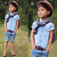 Kids Boys Girls Baby Clothing Products For Children = 4446041668