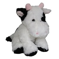 Anico Collectible Plush Toy, Cow, 9 Inches Tall