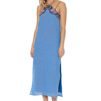 Bay Maxi Dress Chambray