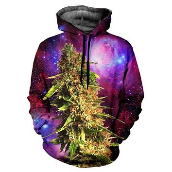 Unisex Sweatshirt Hoodies 3D Print Space Galaxy Hip Hop Loose Coats Casual Sweatshirt Mixed Color Women Men
