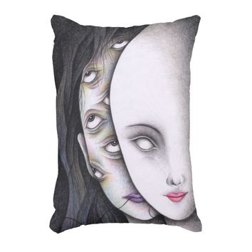 Eyes Decorative Pillow