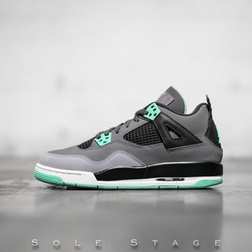 HCXX Air Jordan 4 (GS) Green Glow