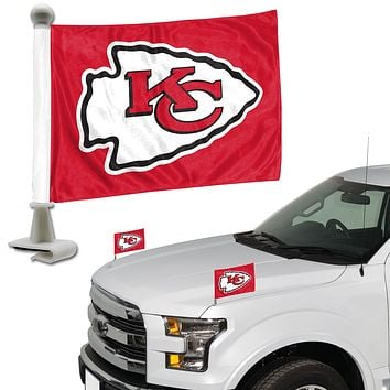 Kansas City Chiefs Flag Set 2 Piece Ambassador Style