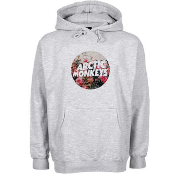 arctic monkeys logo Hoodie Sweatshirt Sweater Shirt Gray and beauty variant color for Unisex size