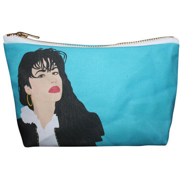 SELENA Selena Quintanilla-Pérez makeup bag lil' purse... original drawing