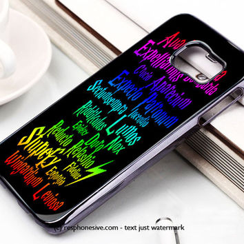 Harry Potter Magic Spells Expecto Patronum Samsung Galaxy S6 and S6 Edge Case