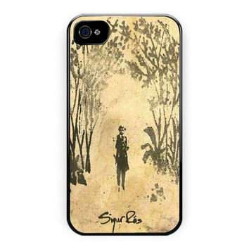 Sigur Ros Beauty Art Cover Design  4/4S Case