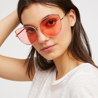 Free People Cheeky Kitty Sunnies